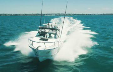 Edencraft 233 Formula Platinum cruising in Corio Bay, Geelong