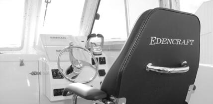 Edencraft 233 Formula Classic chair & dash layout